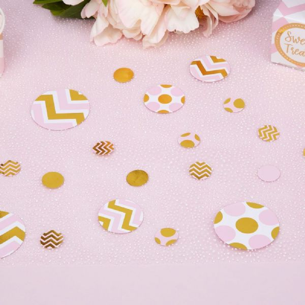 Pattern Works Pink Table Scatters